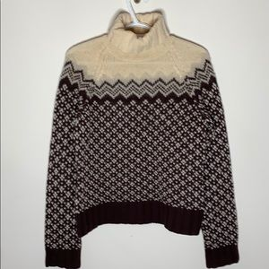 Vintage American Eagle Fair Isle sweater size M